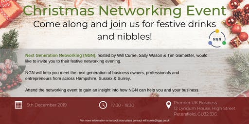 Christmas Networking Event