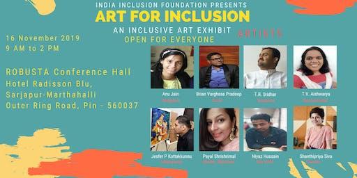 Art For Inclusion - Art Exhibit