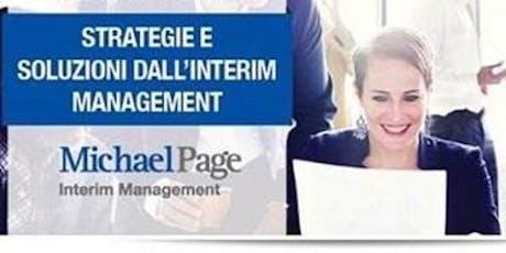 Evento Interim Management | Il ruolo strategico del Manager ad Interim biglietti