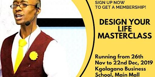 Design Your Life Masterclass