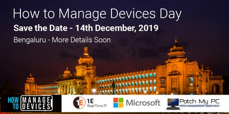 How to Manage Devices Day SCCM Intune Device Management Day tickets