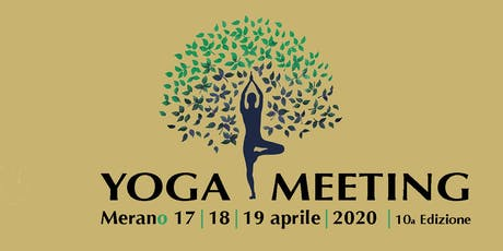 YOGA MEETING MERANO 2020 biglietti