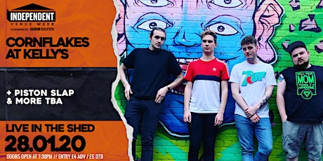 IVW: Cornflakes at Kelly's // The Shed // 28.01.2020 tickets