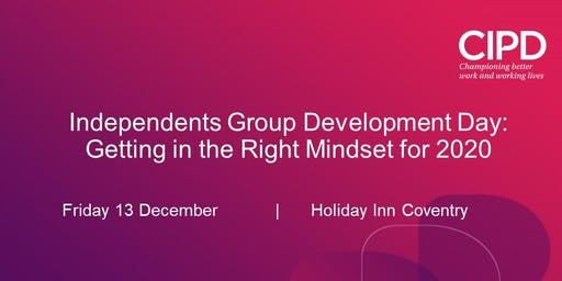 Getting into the right Mindset for 2020 - Development Day for Independents