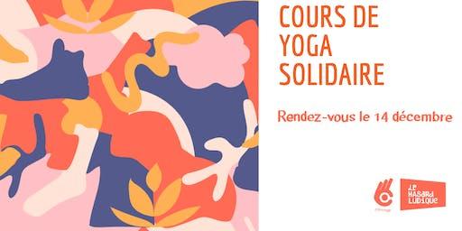 Cours de yoga solidaire avec Marion // Hasard Ludique