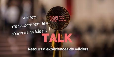 Wild Talk - Retours d'expériences de Wilders billets