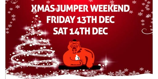 Xmas Jumper WKD - Clapham Bar Crawl