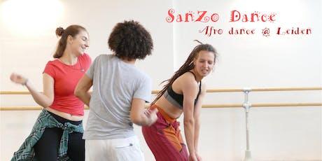 Afrikaanse dans gratis  try-out les door Sandra (SanZo Dance) tickets