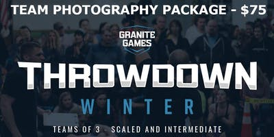 Execution Athletics Granite Games Winter Throwdown - Photo Packages