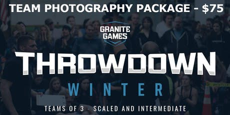 Execution Athletics Granite Games Winter Throwdown - Photo Packages tickets