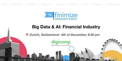 #Finimize Community Presents: Big Data & AI: Financial Industry