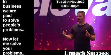 Unpack Success - The Social Way Part 2 tickets