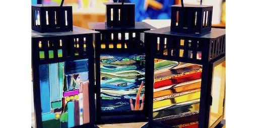 """Glass Fusing """"Lantern"""" Workshop  (01-17-2020 starts at 5:30 PM)"""