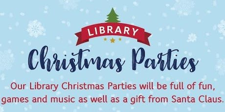 Darlington Libraries: Christmas Party - Monday 16th December (10.30am) tickets