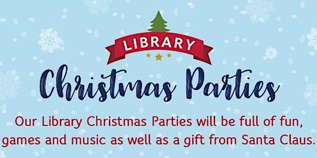 Darlington Libraries: Christmas Party - Monday 16th December (2.00pm) tickets