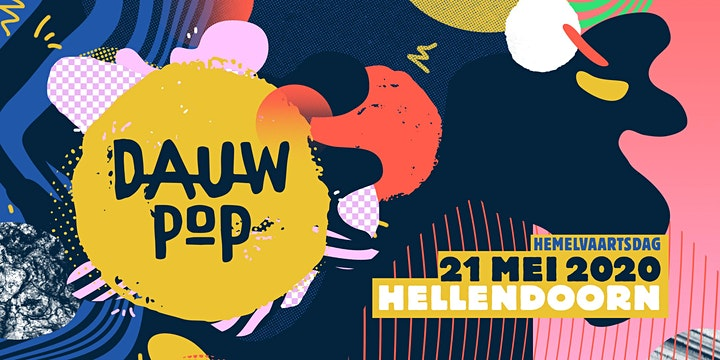 Ticket Dauwpop 21 mei