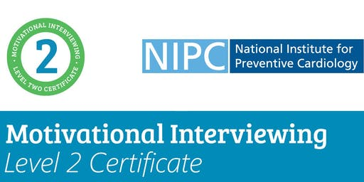 Motivational Interviewing Level 2 Certificate 19th & 20th March 2019 (Standard Rate)