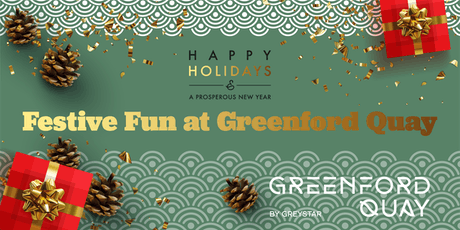 Festive Fun at Greenford Quay: Film Screenings- Registration tickets