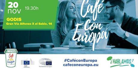 CAFÉ CON EUROPA MURCIA entradas