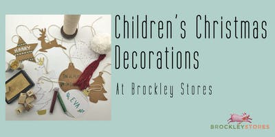 Children's Christmas Decoration Making at Brockley Stores