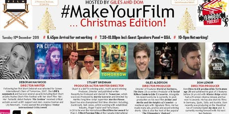 MAKEYOURFILM 6 - CHRISTMAS EDITION! tickets