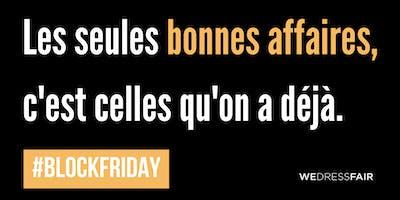 BLOCK Friday - Ateliers - Faites durer vos vêtements !