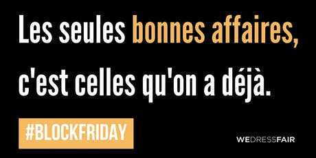 BLOCK Friday - Ateliers - Faites durer vos vêtements ! billets