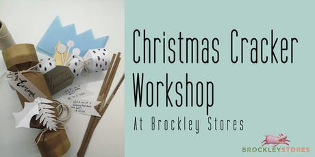 Christmas Cracker Making at Brockley Stores tickets
