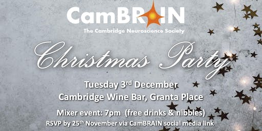 CamBRAIN: Christmas Party Mixer! (with free drinks & nibbles!)