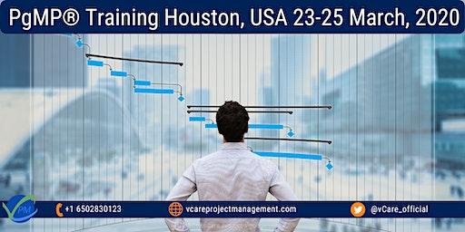 PgMP Certificate | Program Management Training | Houston | March 2020