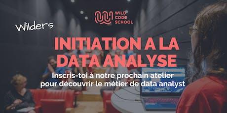 Atelier d'initiation à la Data Analyse billets