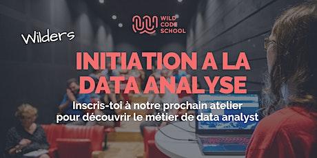 Atelier d'initiation à la Data billets