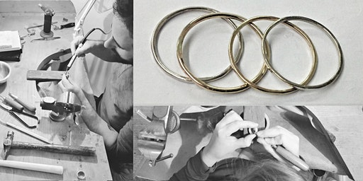 Weekly Jewellery Making Workshops with Fiona Hermse-Block of 3 (January)