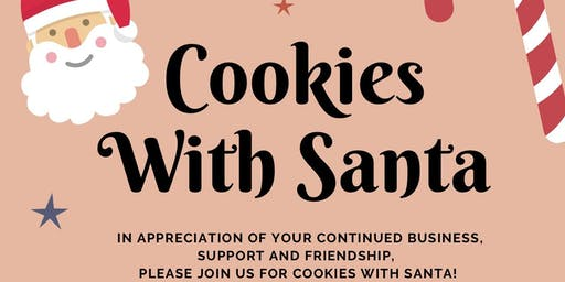 Cookies/Photos With Santa