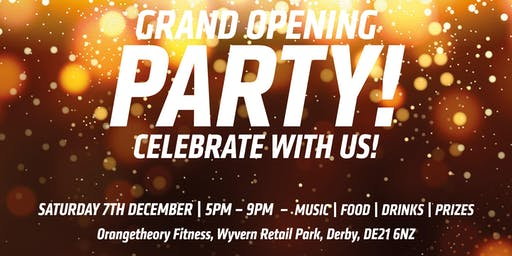 Orangetheory Fitness Derby Grand Opening!