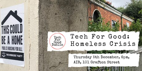 Tech for Good: Homeless Crisis tickets