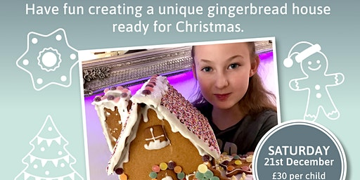 Gingerbread House Decorating Fun