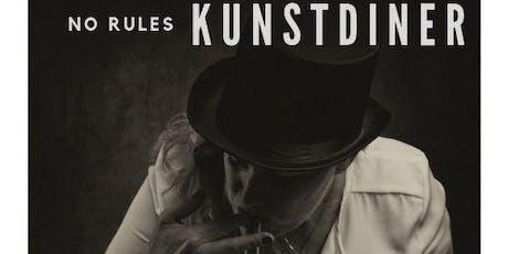 Kunstdiner No Rules tickets