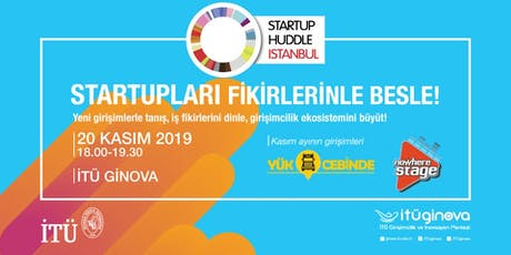 Startup Huddle İstanbul tickets