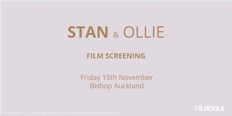 Screening of Stan & Ollie Film tickets