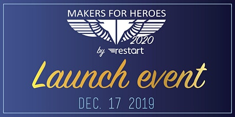 Makers for Heroes 2020 Launch Event \ אירוע השקה של מייקרס פור הירוס 2020 tickets