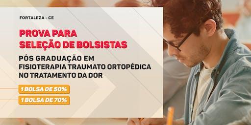 Prova de Seleção para Bolsa - Pós Graduação em Traumato Ortopédica no Tratamento da Dor - Turma 5