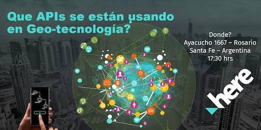 Workshop: APIs de Geo Tecnología en Rosario!