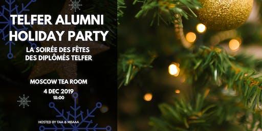 Telfer Alumni Holiday Party | La soirée des fêtes des diplômés Telfer