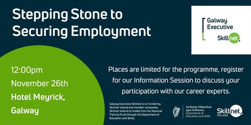 Stepping Stone to Securing Employment - Information Session