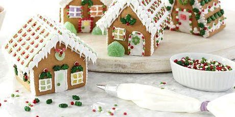 Gingerbread House Decorating Class for all Ages at tickets