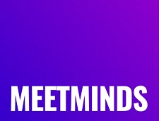 MeetMinds - the modern intellects dinner party for people who are bored of their friends logo
