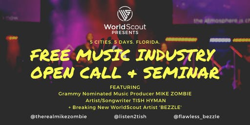 WorldScout Tampa Free Open Calls - November 15th