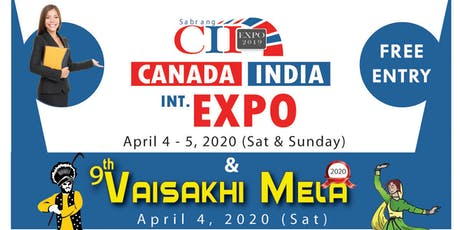 CII EXPO & VAISAKHI MELA 2020 tickets