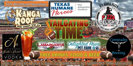 Pizza Delight & Texas Humane Hero's Tailgate Fundraiser tickets